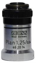 zeiss plan 1.25x objective image